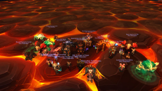 Ahead of the Curve – Blackhand HC DOWN