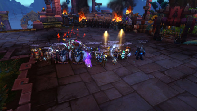Mythic Battle of Dazar'alor 2/9 – Jadefire Masters